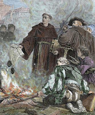 Martin Luther (eisleben, 1483 Poster by Prisma Archivo