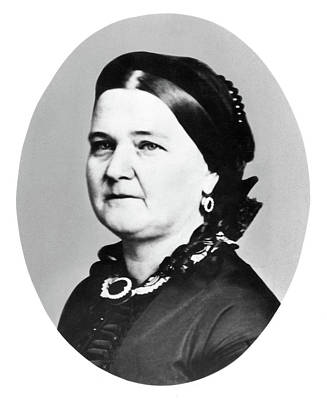 Mary Todd Lincoln (1818-1882) Poster by Granger