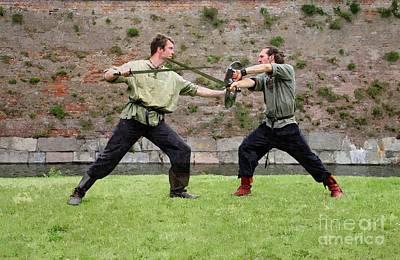 Medieval Combat Techniques  Poster