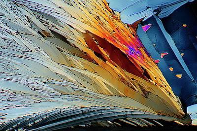 Metformin Drug Crystals Poster by Antonio Romero