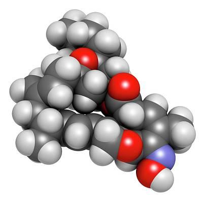 Milbemycin Oxime Antiparasitic Drug Poster by Molekuul