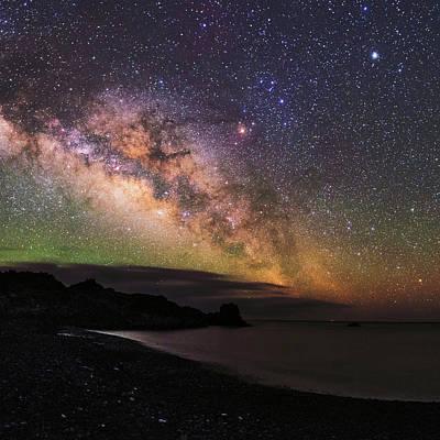 Milky Way Over La Palma Poster by Babak Tafreshi