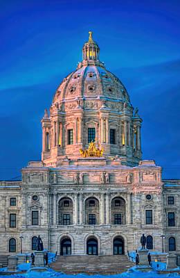 Minnesota State Capitol St Paul Poster