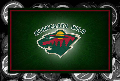 Minnesota Wild Poster by Joe Hamilton