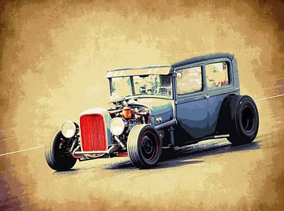 Model A Sedan Poster