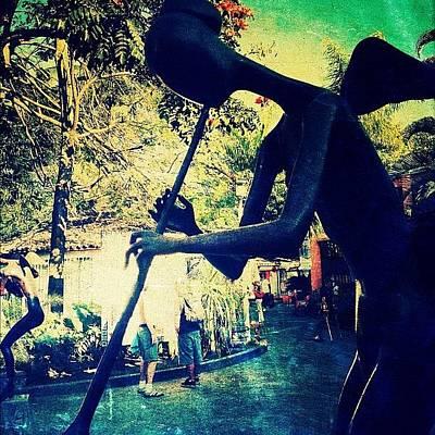 Musician Sculpture (puerto Vallarta) Poster