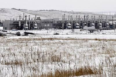 Natural Gas Distribution Poster