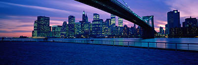 Nyc, New York City New York State, Usa Poster by Panoramic Images