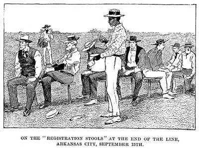 Oklahoma Land Rush, 1893 Poster by Granger