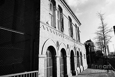 old friends meeting house frederick street Belfast Northern Ireland UK Poster by Joe Fox
