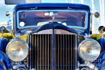 1933 Packard Super Eight Poster by George Atsametakis