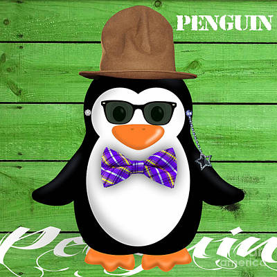 Peter Penguin Collection Poster