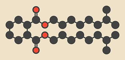 Plasticizer Molecule Poster by Molekuul