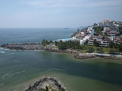 Playa El Palmar, Ixtapa Poster by Rob Huntley
