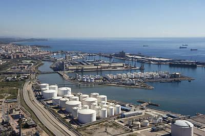 Port Of Tarragona, Catalonia Poster