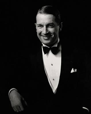 Portrait Of Maurice Chevalier Poster by Edward Steichen