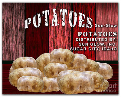 Potato Farm Poster