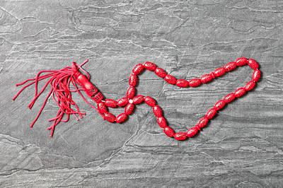Prayer Beads Poster by Tom Gowanlock