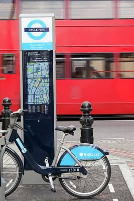 Public Bike Hire Scheme Poster