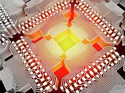 Quantum Computer Poster