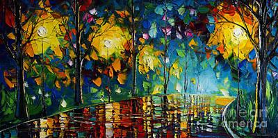 Rainy Night Poster by Willson Lau