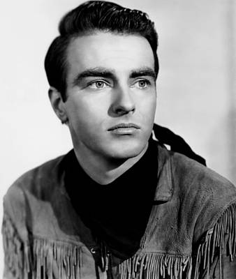 Red River, Montgomery Clift, 1948 Poster