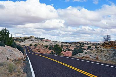 Route 12 - Utah Poster by Dana Sohr