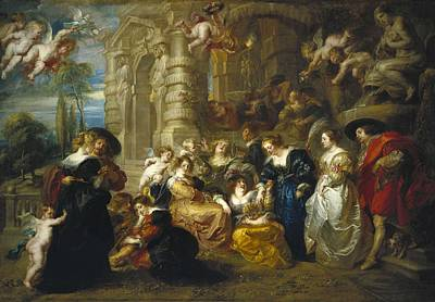 Rubens, Peter Paul 1577-1640. The Poster
