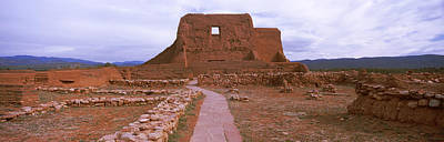 Ruins Of The Pecos Pueblo Mission Poster