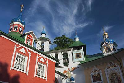 Russia, Pskovskaya Oblast, Pechory Poster by Walter Bibikow