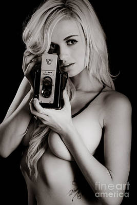 Sexy Photographer Poster