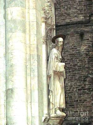 Siena Sculpture Poster