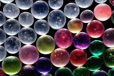 Silica Gel Beads Poster by Antonio Romero