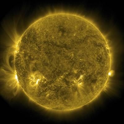 Solar Activity, Sdo Ultraviolet Image Poster