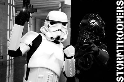 Star Wars Stormtrooper Poster by Tommytechno Sweden