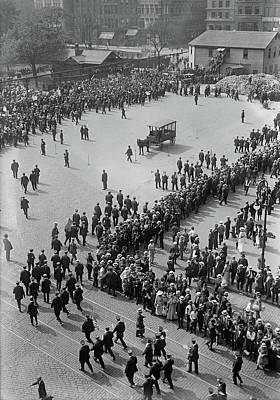 Streetcar Strike, 1916 Poster by Granger