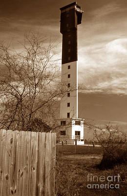 Sullivans Island Lighthouse Poster by Skip Willits