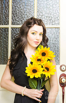 Sun Flower Poster by Jorgo Photography - Wall Art Gallery