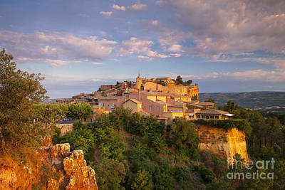 Sunrise Over Roussillon Poster by Brian Jannsen