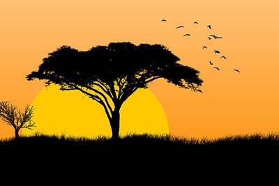 Sunrise Poster by Stephanie Hamilton