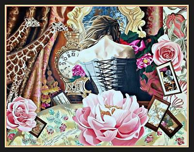 Sweet Malia Poster by Nancy M Garrett