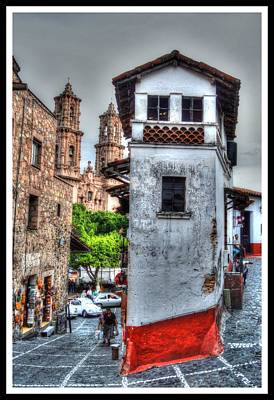 Taxco Mexico Poster by Paul James Bannerman