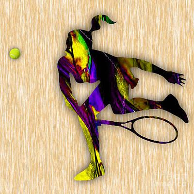 Tennis Match Poster