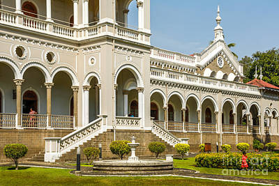 The Aga Khan Palace Poster