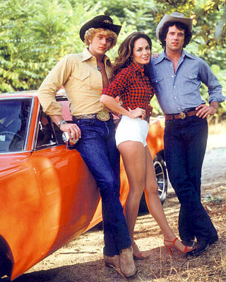 The Dukes Of Hazzard  Poster by Silver Screen