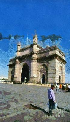 The Gateway Of India Poster by George Atsametakis