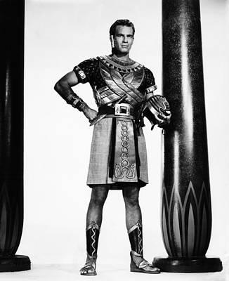 The Ten Commandments, Charlton Heston Poster