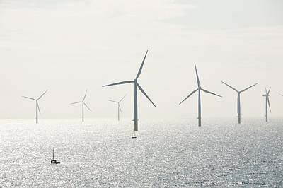 The Walney Offshore Windfarm Poster