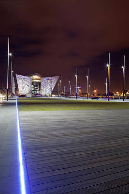 Titanic Belfast And Olympic Slipways Poster by Panoramic Images