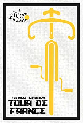 Tour De France 2015 Minimalist Poster Poster